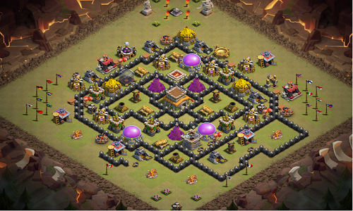 Plot of Clash of Clans for pc
