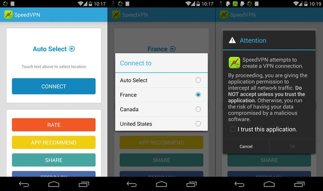 Best Free VPN for Android Phones and Tablets - Speed VPN