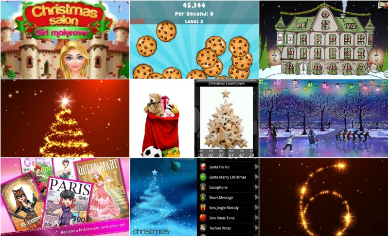 CHRISTMAS APPS FOR ANDROID DEVICES 2015