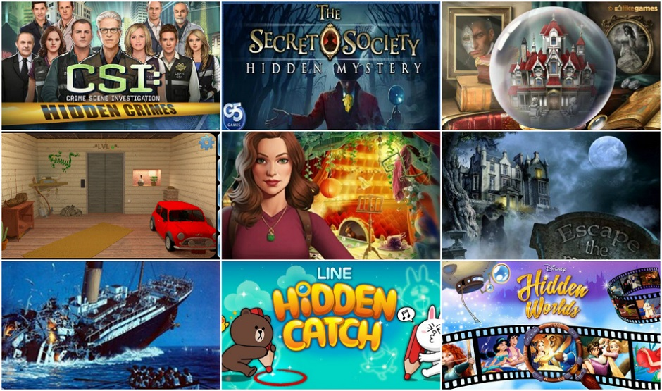 12 BEST Hidden Object Games For Android