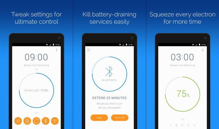 Highlights of Battery Time Saver & Optimizer