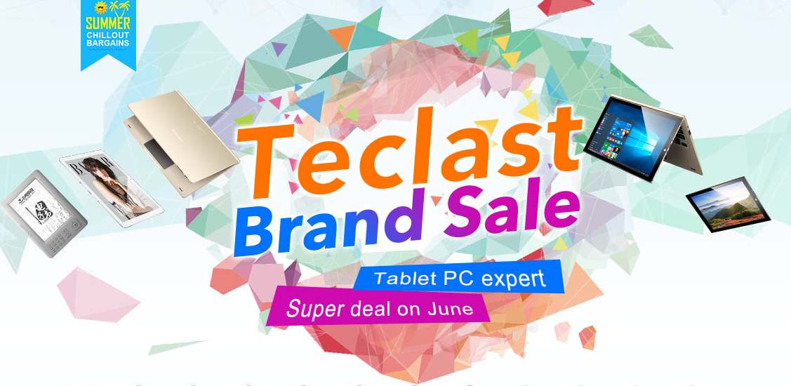 Teclast Products Special Promotion GearBest.com