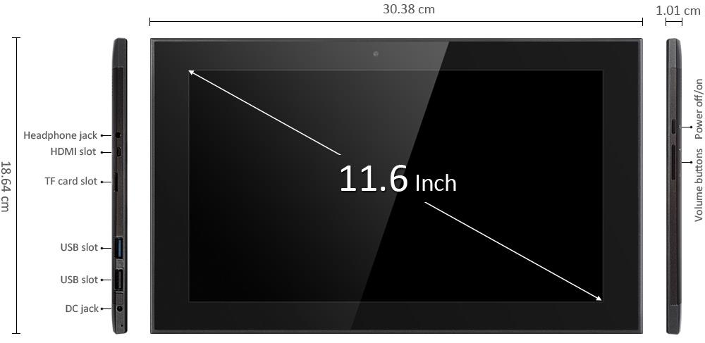 Teclast TBOOK 16 2 in 1 Ultrabook Tablet PC (1)